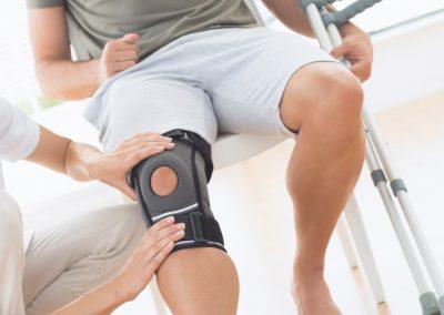 Amplia gama de productos deportivos para rehabilitación traumatológica, medicina deportiva y protección de las articulaciones